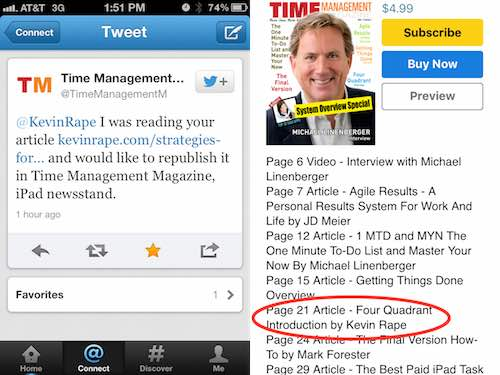 Time Management Magazine Review