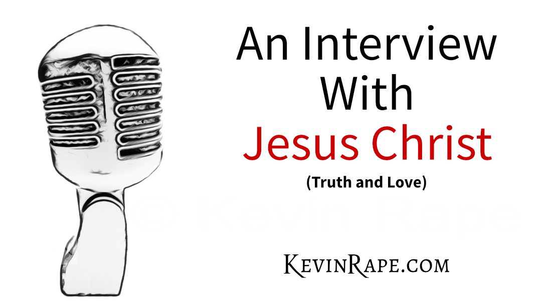 microphone - an interview with Jesus Christ - picture