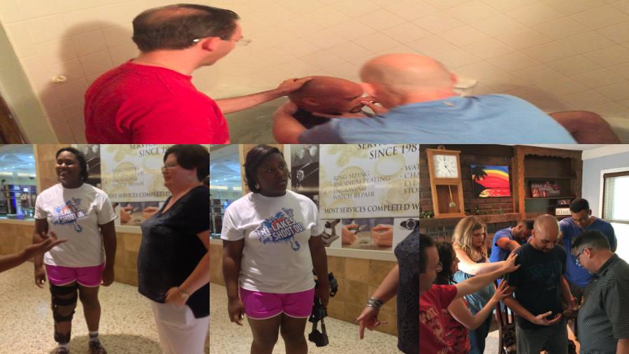 Ministry - Baptism, Healing, Prayer
